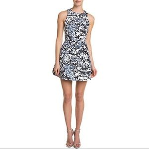 CAMEO THE LABEL OIL PRINT DRESS